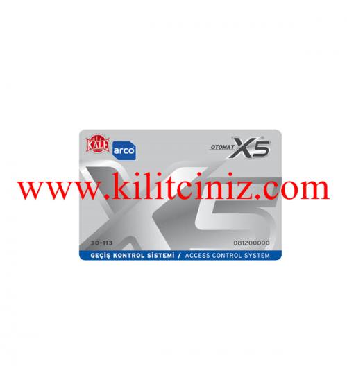 X5 Otomat Kartı